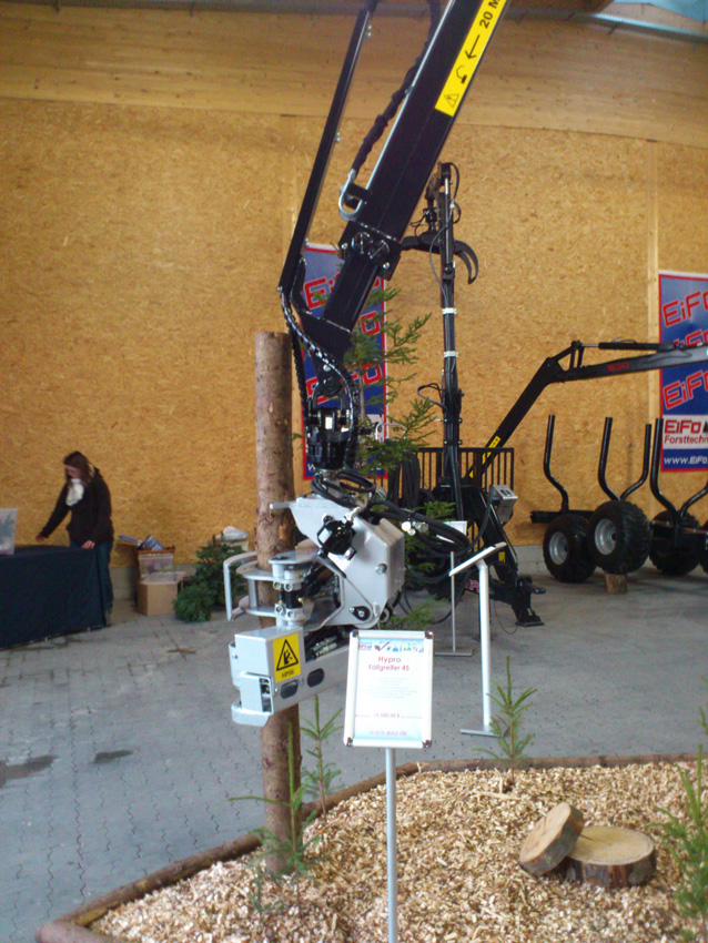 HYPRO attending Eifo Forsttage in Germany, 2012