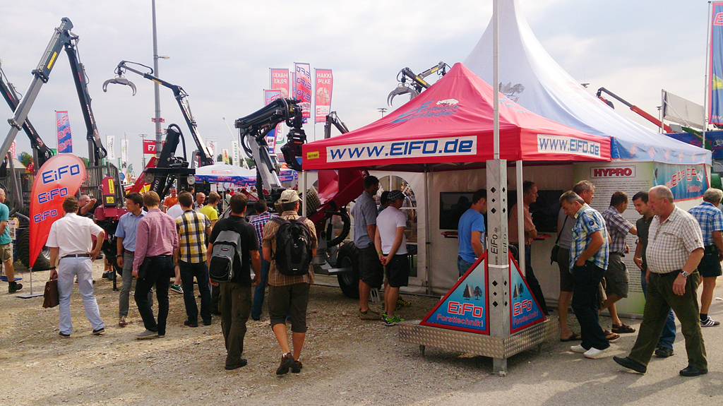 HYPRO attending Interforst in Germany 2014