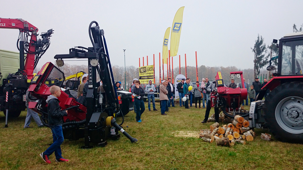 HYPRO attending forestry fair in Poland 2014