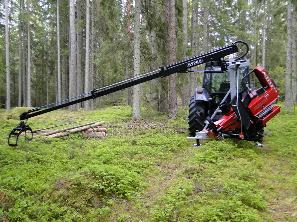 HYPRO 450 XL Tractor processor/Thinning processor